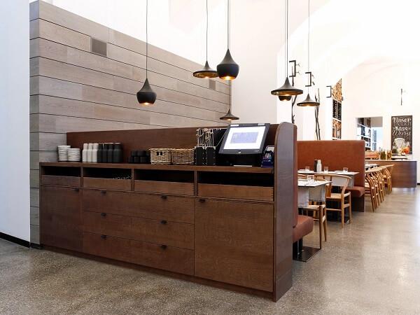 Станция официанта в современном стиле на заказ